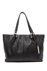 Vince Camuto Helen Leather Tote Black 01