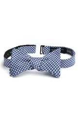 Ted Baker Men's London Houndstooth Silk Bow Tie