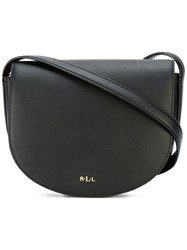Lauren Ralph Lauren Saddle Crossbody Bag Women Leather One Size Black