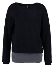 United Colors Of Benetton Jumper Dark Blue