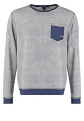 Japan Rags Janeiro Sweatshirt Grey Melange Mottled Grey