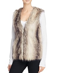 Bb Dakota Jack By Lonnie Faux Fur Vest Multi