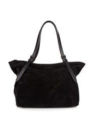 Tomas Maier East By West Suede Tote