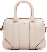 Givenchy Pink Leather Micro Lucrezia Duffle Bag