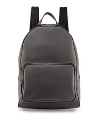 Berluti Time Off Leather Backpack Gray