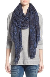 Lily And Lionel Women's Lily And Lionel 'Eva' Leopard Print Modal And Cashmere Scarf