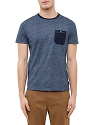 Ted Baker All Over Printed Tee Navy