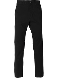 Moschino Straight Leg Trousers Black