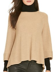 Polo Ralph Lauren V Back Merino Sweater Camel