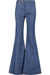 Derek Lam 10 Crosby By Flare High Rise Bootcut Jeans Mid Denim