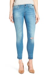Women's Mavi Jeans Gold 'Alexa' Stretch Ankle Skinny Jeans