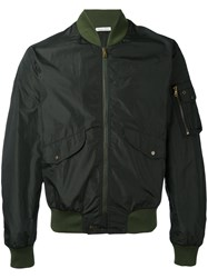 Tomas Maier Pocket Bomber Jacket Men Polyester L Green