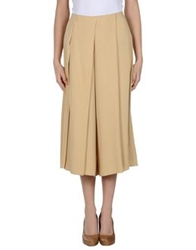 Normaluisa 3 4 Length Skirts Beige