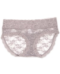 A Pea In The Pod Maternity Lace Briefs Silver