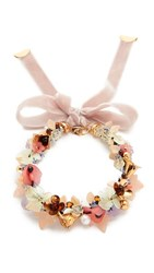 Lizzie Fortunato Velvet Garden Necklace Multi