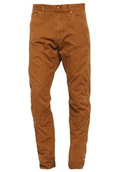 G Star Gstar 5620 Workwear 3D Tapered Cargo Trousers Oxide Ocre Brown