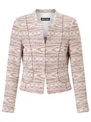 Gerry Weber Jacquard Jacket Rose Figured