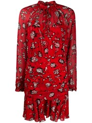 Veronica Beard Alena Floral Print Dress 60