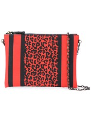 Tomas Maier Crossbody Pouch Red