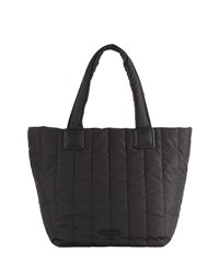 French Connection Theo Parachute Nylon Tote Bag Black