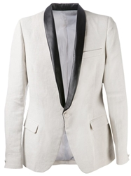 Band Of Outsiders Classic Blazer Nude And Neutrals