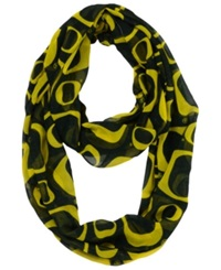 Forever Collectibles Oregon Ducks All Over Logo Infinity Scarf Green