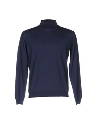 Rossopuro Turtlenecks Dark Blue