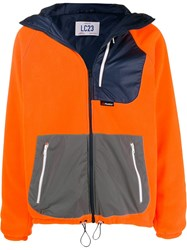 Lc23 Polartec Technical Colour Block Jacket Orange