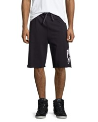 Prps Fleece Cutoff Sweat Shorts Black