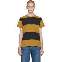 Levi's Levis Vintage Clothing Yellow And Black Stripe 1960S Casual T Shirt