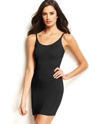 Star Power By Spanx Firm Control Hollywood Socialight Camisole Full Slip 2351 Only At Macy's Black Tie