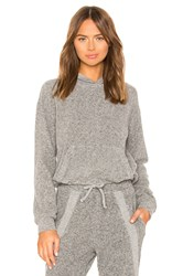 Vimmia Warmth Crop Hoodie Gray