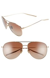 Salt Men's 'Francisco' 59Mm Gradient Sunglasses Honey Gold Brown Honey Gold Brown