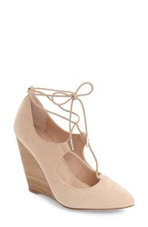 Charles By Charles David Women's Ima Ghillie Lace Wedge