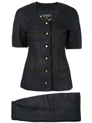 Chanel Pre Owned Two Piece Suit 60