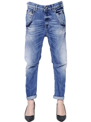 Diesel Fayza Cotton Denim Jeans Blue