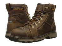 Caterpillar Granger 6 Steel Toe Dark Beige Men's Work Lace Up Boots Brown
