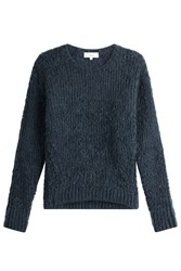 Iro Pullover With Mohair And Wool Blue