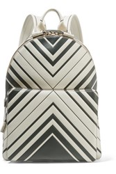 Anya Hindmarch Printed Leather Backpack Off White