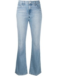 J Brand Classic Bootcut Jeans Blue