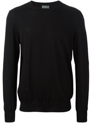 Christian Dior Homme Blurry Stripes Pullover Black