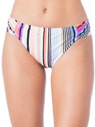 Kenneth Cole Reaction Printed Hipster Bikini Bottoms Coral