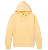 J.Crew Garment Dyed Loopback Cotton Jersey Hoodie Yellow