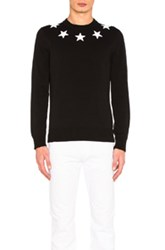 Givenchy Star Collar Sweater In Black