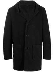 Daniele Alessandrini Shearling Single Breasted Coat 60