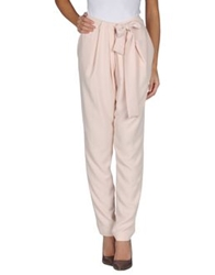 Hotel Particulier Casual Pants Light Pink