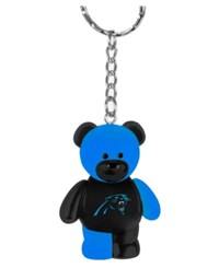 Forever Collectibles Carolina Panthers Bear Keychain