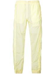 Cottweiler Elasticated Track Pants Yellow