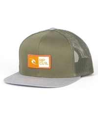 Rip Curl Ripawatu Trucker Hat Military Green
