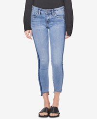 Silver Jeans Co. Side Stripe Skinny Indigo